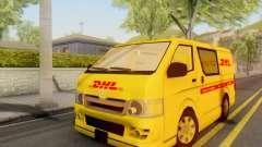 Toyota Hiace DHL Cargo Van 2006