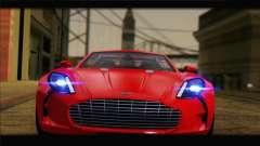 Aston Martin One-77 2010 для GTA San Andreas
