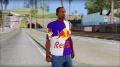 Red Bull T-Shirt для GTA San Andreas