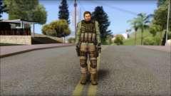 Chris Europa from Resident Evil 6