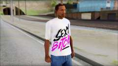 David Guetta Sexy Bitch T-Shirt для GTA San Andreas