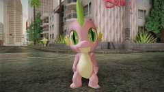Spike from My Little Pony Friendship для GTA San Andreas