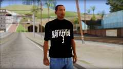 Battlefield 3 Fan Shirt для GTA San Andreas