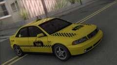 Audi A4 1.9 TDI 2000 Taxi для GTA San Andreas