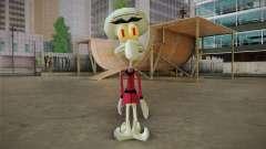 Squilliam from Sponge Bob для GTA San Andreas