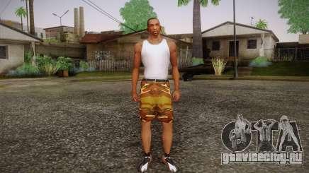 Camo Shorts Pants для GTA San Andreas