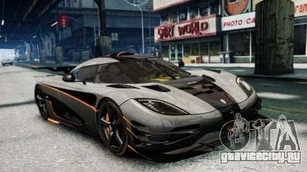 Koenigsegg One v2.0 для GTA 4