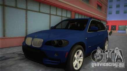 BMW X5 2009 для GTA Vice City