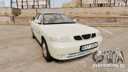 Daewoo Nubira I Sedan CDX PL 1997 для GTA 4