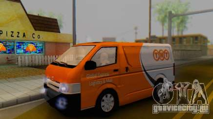Toyota Hiace TNT Cargo Van 2006 для GTA San Andreas