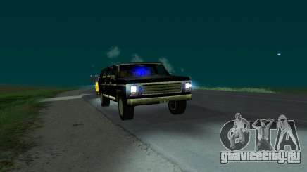 New FBI Rancher для GTA San Andreas