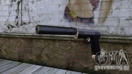 Silenced Combat Pistol from GTA 5 для GTA San Andreas