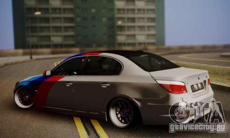 BMW M5 E60 Stance Works для GTA San Andreas вид слева
