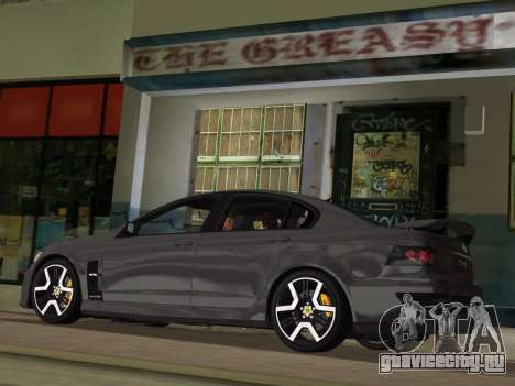 Holden HSV GTS 2011 для GTA Vice City колёса