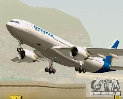 Airbus A330-200 Syphax Airlines для GTA San Andreas вид сверху