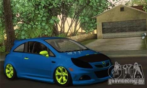 Opel Corsa для GTA San Andreas