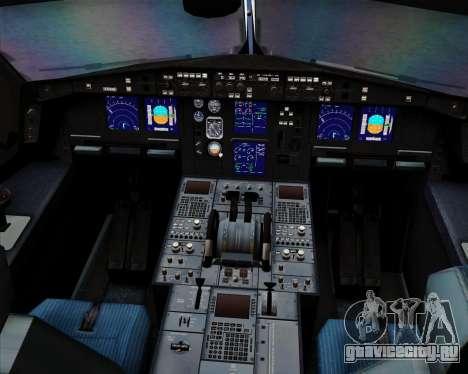 Airbus A340-313 Air China для GTA San Andreas двигатель