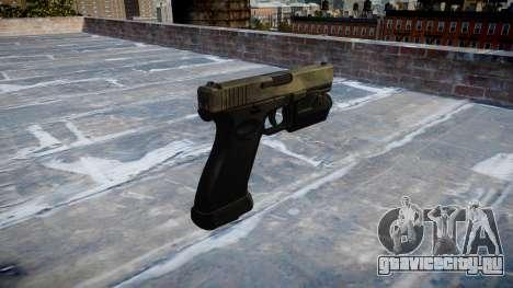 Пистолет Glock 20 a tac au для GTA 4 второй скриншот