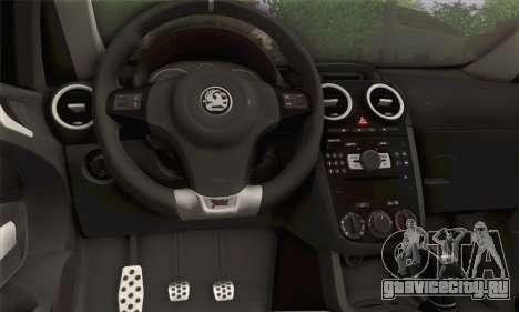 Opel Corsa для GTA San Andreas вид сзади слева