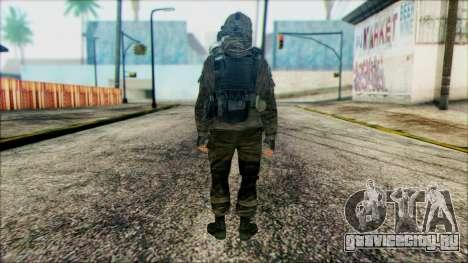 Солдат ВДВ (CoD: MW2) v2 для GTA San Andreas второй скриншот
