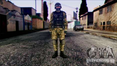 Soldier from Prototype 2 для GTA San Andreas