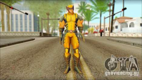 Wolverine Deadpool The Game Cable для GTA San Andreas