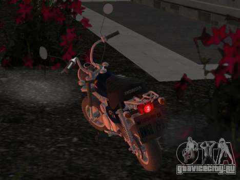Honda Z50J Monkey для GTA San Andreas вид сбоку