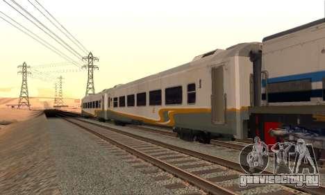 K1 Argo Traincar индонезийский для GTA San Andreas