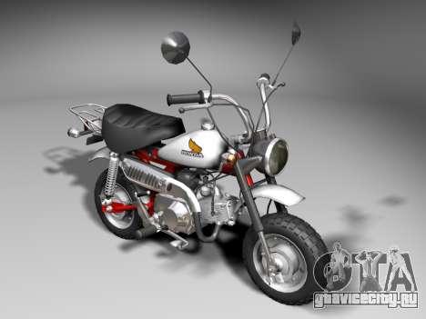 Honda Z50J Monkey для GTA San Andreas вид слева
