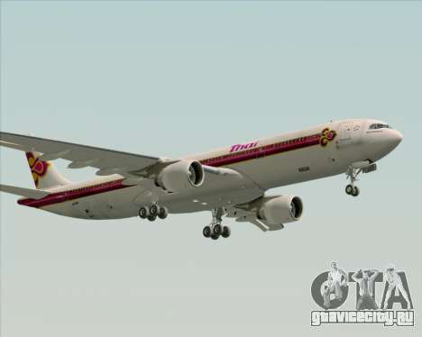 Airbus A330-300 Thai Airways International для GTA San Andreas вид снизу