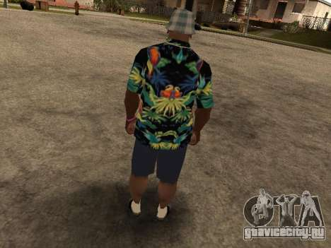 Гавайская рубашка как у Макса Пейна для GTA San Andreas пятый скриншот