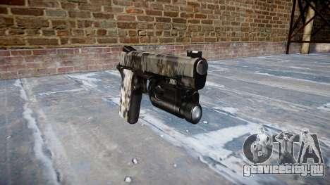 Пистолет Kimber 1911 Ghotex для GTA 4