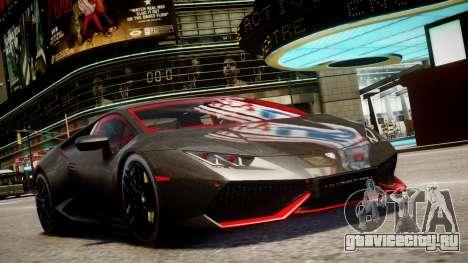 Lamborghini Huracan LP610-4 SuperTrofeo для GTA 4 вид сзади слева