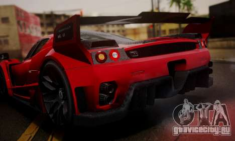 Ferrari Gemballa MIG-U1 для GTA San Andreas вид изнутри