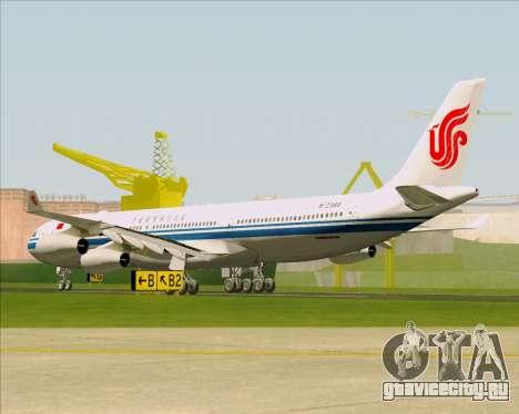 Airbus A340-313 Air China для GTA San Andreas вид справа