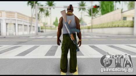MR T Skin v6 для GTA San Andreas второй скриншот