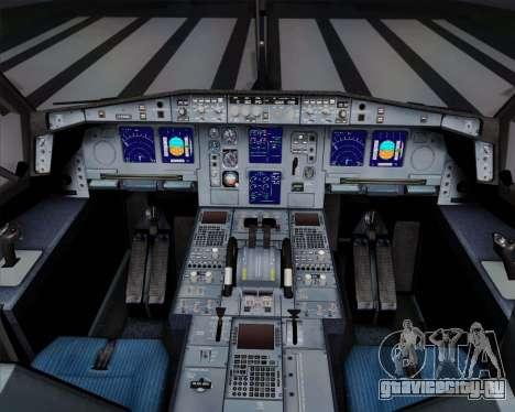 Airbus A340-311 Turkish Airlines (Star Alliance) для GTA San Andreas вид снизу