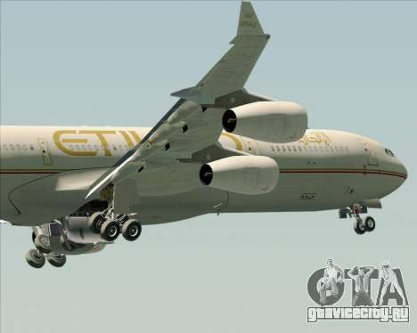 Airbus A340-313 Etihad Airways для GTA San Andreas