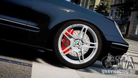 Mercedes-Benz E320 для GTA 4 вид справа