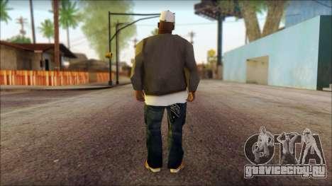 Afro - Seville Playaz Settlement Skin v3 для GTA San Andreas второй скриншот