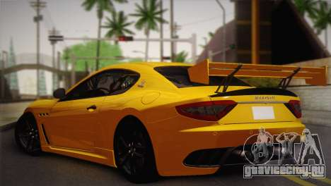 Maserati Gran Turismo MC Stradale для GTA San Andreas вид слева