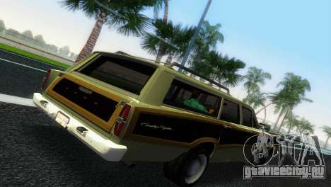 Ford Country Squire для GTA Vice City вид справа
