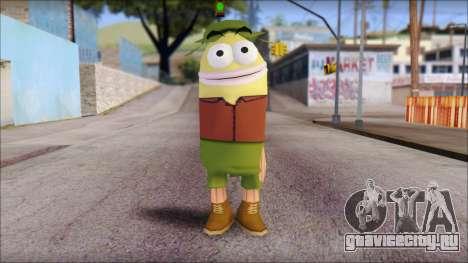 Campguy from Sponge Bob для GTA San Andreas