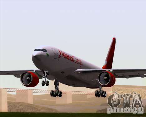 Airbus A330-243F Avianca Cargo для GTA San Andreas вид снизу