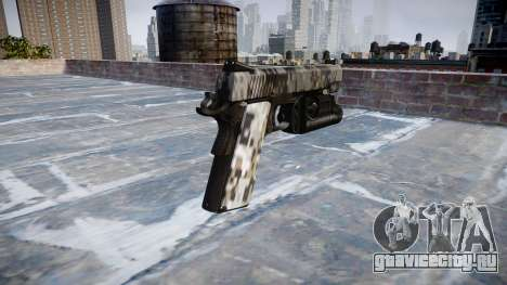 Пистолет Kimber 1911 Ghotex для GTA 4 второй скриншот