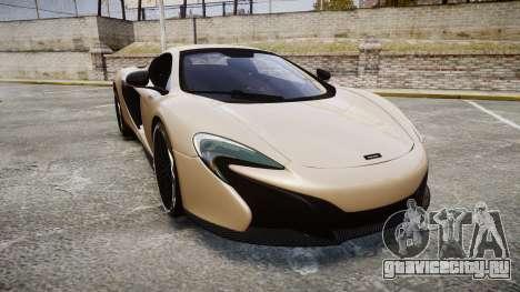 McLaren 650S Spider 2014 [EPM] Yokohama ADVAN v2 для GTA 4