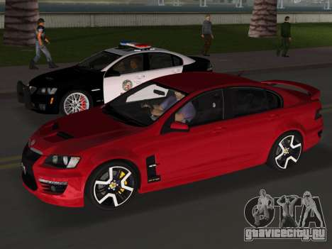 Holden HSV GTS 2011 для GTA Vice City