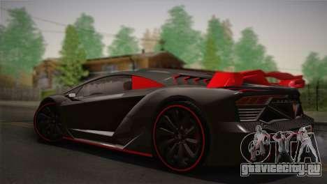 GTA 5 Zentorno (IVF) для GTA San Andreas вид слева