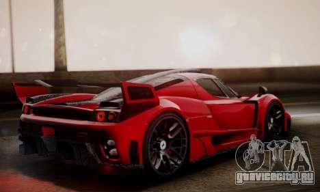 Ferrari Gemballa MIG-U1 для GTA San Andreas вид слева