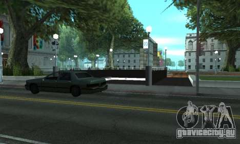 Новое метро в Сан-Фиерро для GTA San Andreas третий скриншот